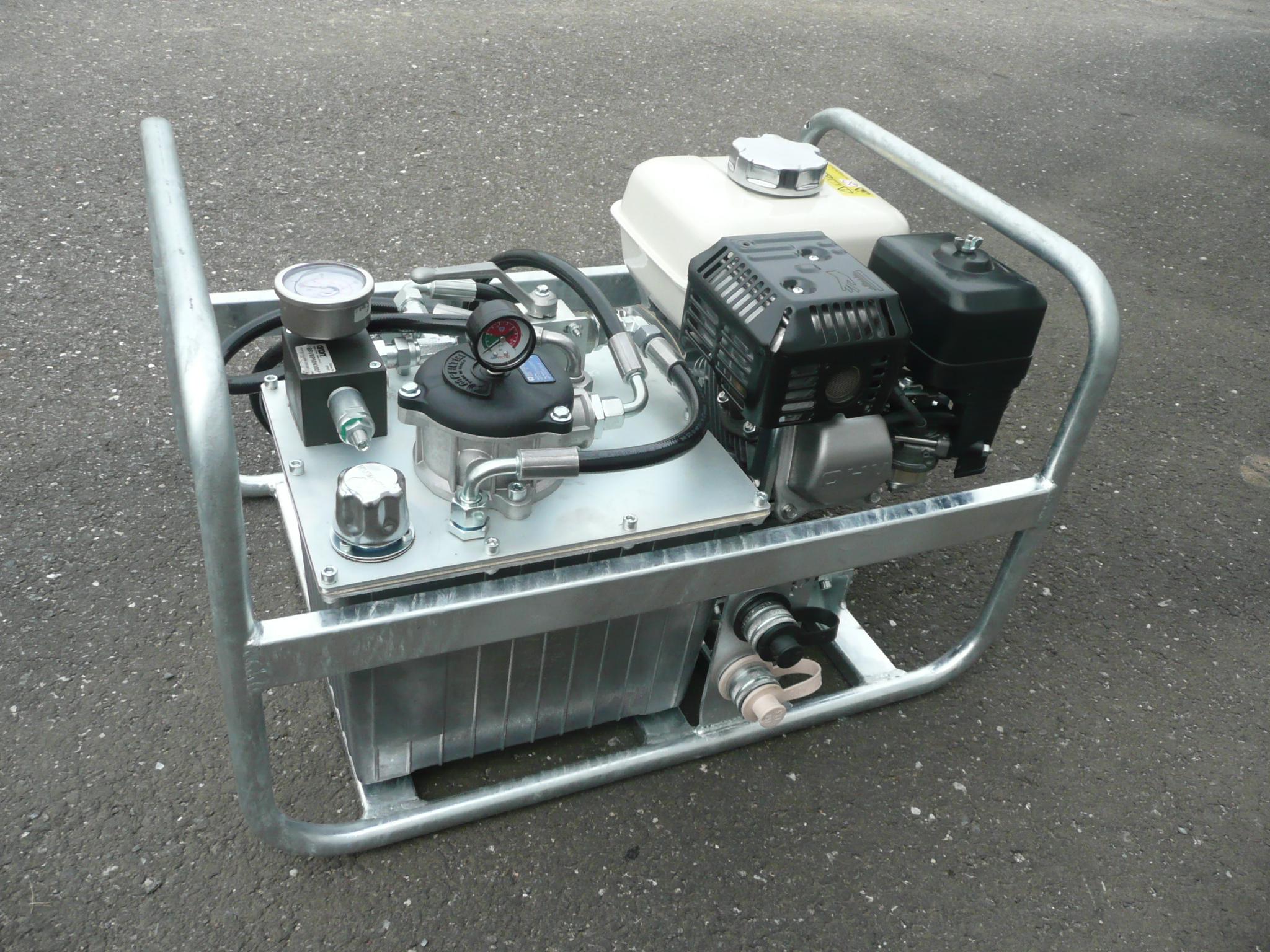 Hydraulický generátor