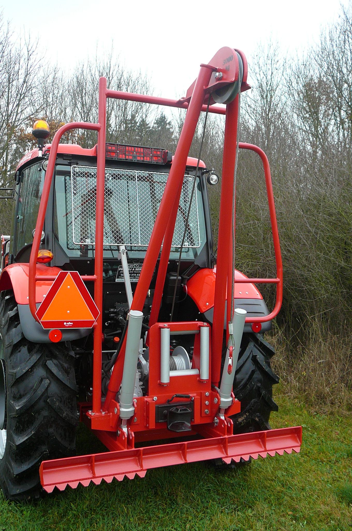 Nástavba na traktor NT30