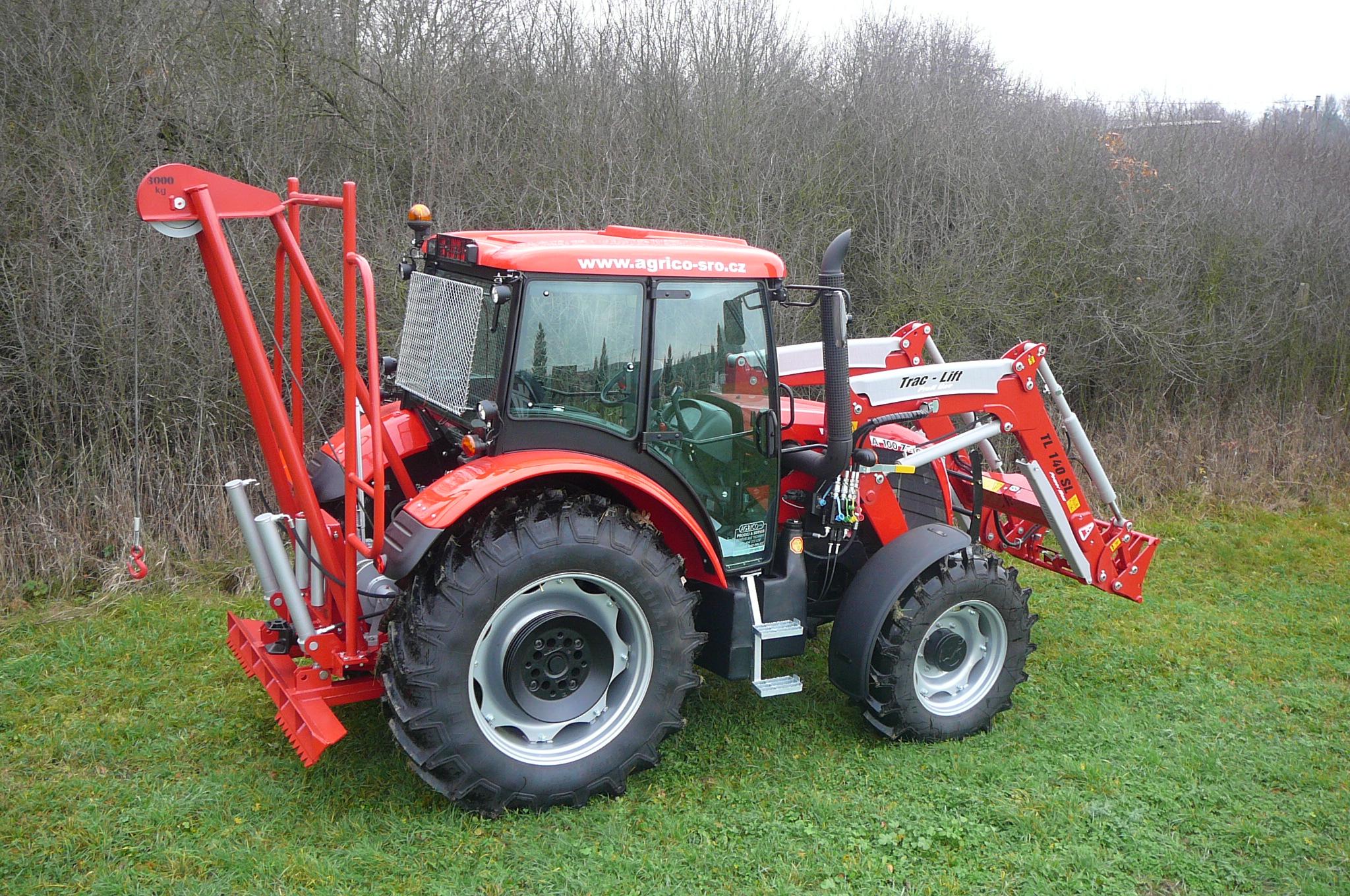 Naviják na traktor NT 30